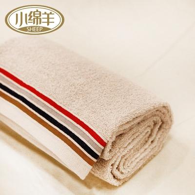 全棉色织多臂彩条毛巾