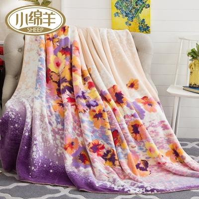 双层加厚设计——西班牙风情盖毯